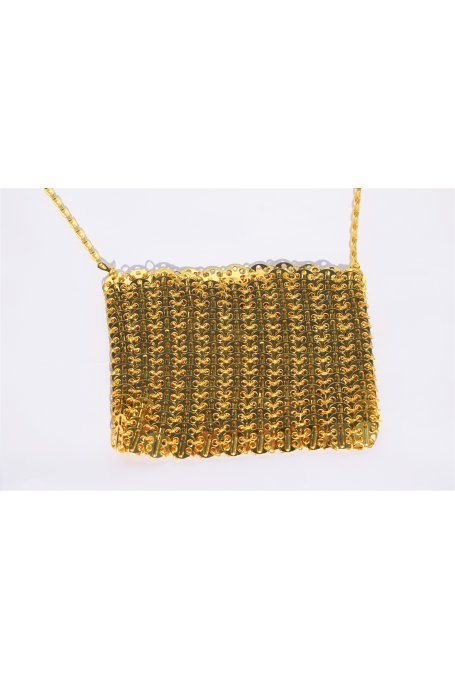 GOLD METALLIC BAG