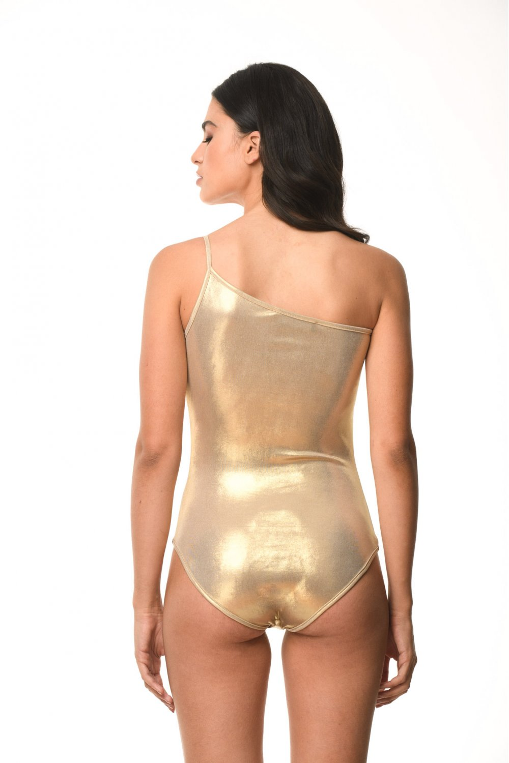 GOLD SHINY SWIMWEAR